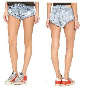 One Teaspoon Hendrix Bandit Shorts Size 26